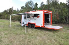 ultra light toy hauler caria caravans toyhauler youtube