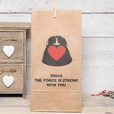 wars gift bags wars personalised gift bag by berry apple