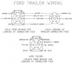 ford trailer connector wiring diagram wiring diagrams