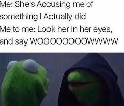 Meme Me - 40 evil kermit the frog me to me memes
