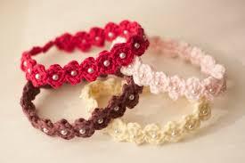 crochet headbands for babies baby headband pattern crocheted adjustable beaded baby