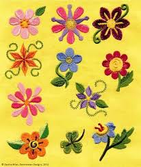 Flower Designs For Embroidery 71 Best Machine Embroidery Designs I Like Images On Pinterest
