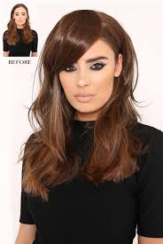 clip in fringe instant bangs side swept fringe one lullabellz