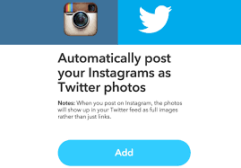 how to automatically post your instagram photos as twitter photos