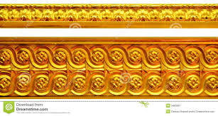 golden ornaments stock image image of edge ornament 3463957
