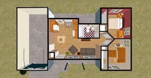 Two Bedroom Flat Floor Plan Two Bedroom House