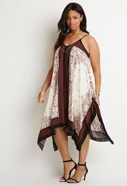 paisley print trapeze dress forever 21 plus 2000184616