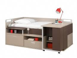 gautier chambre ado dimix compact bed with desk