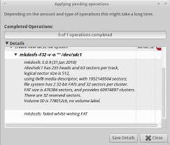 format as fat32 ubuntu partitioning gparted won t format fat32 partition ask ubuntu