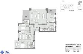 plan bellevue towers 15