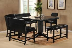 dining room contemporary black dining room sets with square