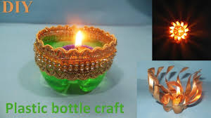 diy diwali waste bottle craft how to decorate christmas