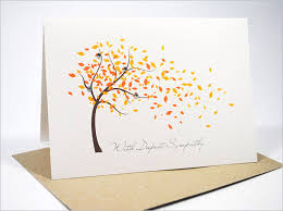 condolence cards sympathy card template 17 free sle exle format