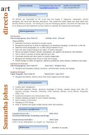 Interactive Resume Examples by Resume Examples 2017 Art Director U2022