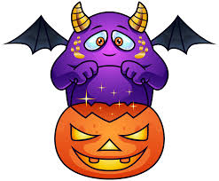 purple halloween monster png clipart image gallery yopriceville