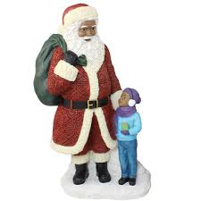 new black santa claus figurines for the upcoming season
