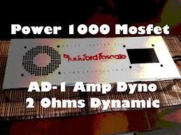 rockford fosgate power mosfet vs smd ad amp dyno at ohms dynamic