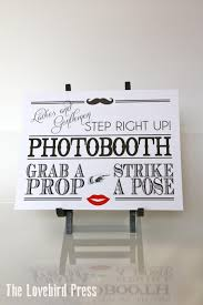 Photo Booth Sign Wedding Photobooth Sign Printable Photo Booth Sign Instant