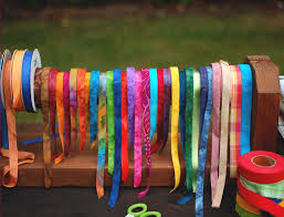 fabric ribbons color texture discover locker hooking color