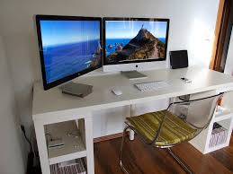 stylish desk with design elegant oak computer desk design ideas