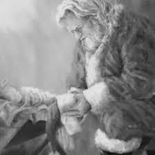 santa kneeling at the manger 15 best kneeling santa images on christmas ideas