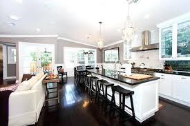 Small Kitchen Living Room Ideas Kitchen Living Room Open Floor Plan Photos Best Rooms Ideas On