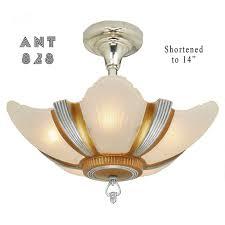 Art Deco Lighting Fixtures Antiques Com Classifieds Antiques Art Deco Art Deco