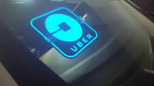 lyft light up beacon new glowing uber sign new uber logo youtube