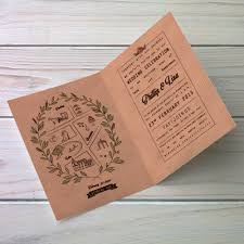 folded wedding invitations folded wedding invitations isura ink