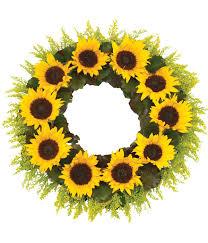sunflower wreath wreath