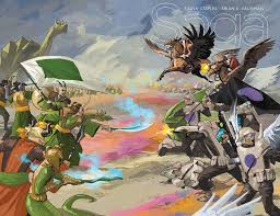 saga volume 7 saga is the best comic in the universe because it shows you how
