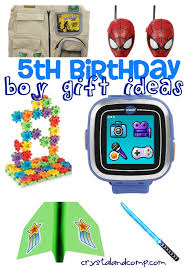 birthday boy ideas boy gift ideas 5th birthday