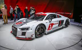 first audi r8 audi debuts lms racing version of all new r8 we drool u2013 news