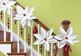 Banister Decorations For Christmas How To Decorate A Staircase Railing For Christmas