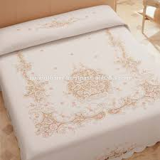 hand embroidery bedding set bed sheet bed linen baby bedding