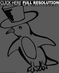 christmas penguin coloring pages clipart panda free clipart images