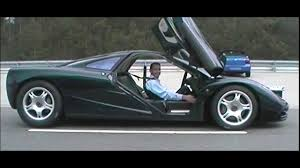 custom mclaren f1 video of the mclaren f1 breaking 240 mph is awesome 95 octane