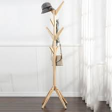 hat coat rack bedroom clothes stand coat hanger stand wooden