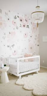 best 25 childrens wall murals ideas on pinterest kids wall this watercolor floral mural is practically made for your little girl s nursery take inspiration from