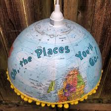 oh the places you ll go graduation gift oh the places you ll go globe pendant l as graduation gift