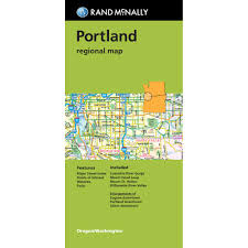 Portland County Map by Portland Regional Map