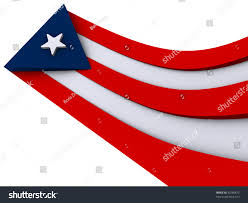 Puerto Rico Flag Wavy Effect Puerto Rico Flag Stock Illustration 36280873