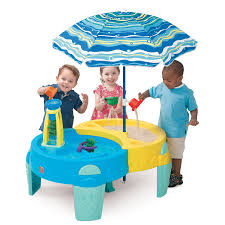 Amazon Com Shady Oasis Sand And Water Play Table Toys Games