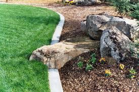 rocks and boulders in the landscape best landscape boulders