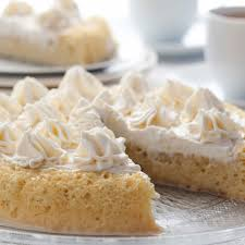 a light and sweet sponge cake recipe with a yummy whipped cream