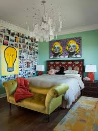 Eclectic Interior Design Los Gatos Residence Eclectic Bedroom San Francisco By