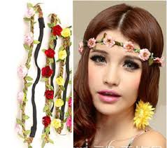boho hair accessories artilady lovely flower design hair accessories boho olive headband
