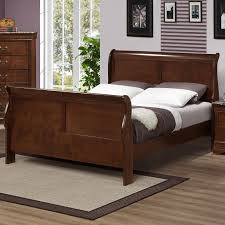 King Sleigh Bed Marseille King Sleigh Bed With Curved Posts Great