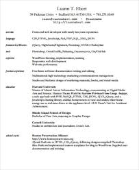 Web Developer Resume Example by Front End Developer Resume 2 3 Ux Designer And Front End
