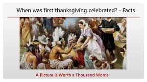 when was thanksgiving celebrated facts when did
